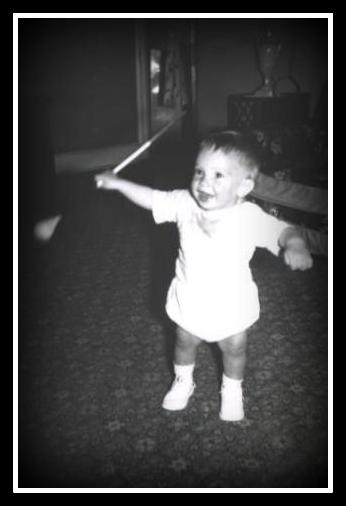 Portrait of the author as a young baton twirler - copyright 2012 by Anthony Buccino, all rights reserved.