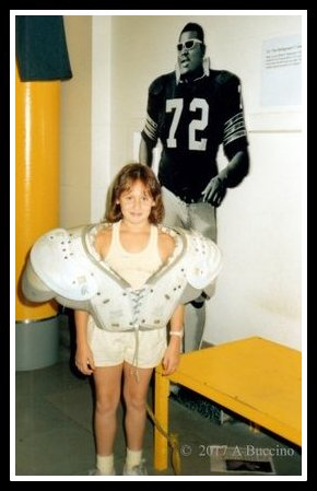 Refrigerator Perry's shoulder pads!