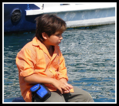 WAITING BOY BY THE SEA - By Anthony Buccino
