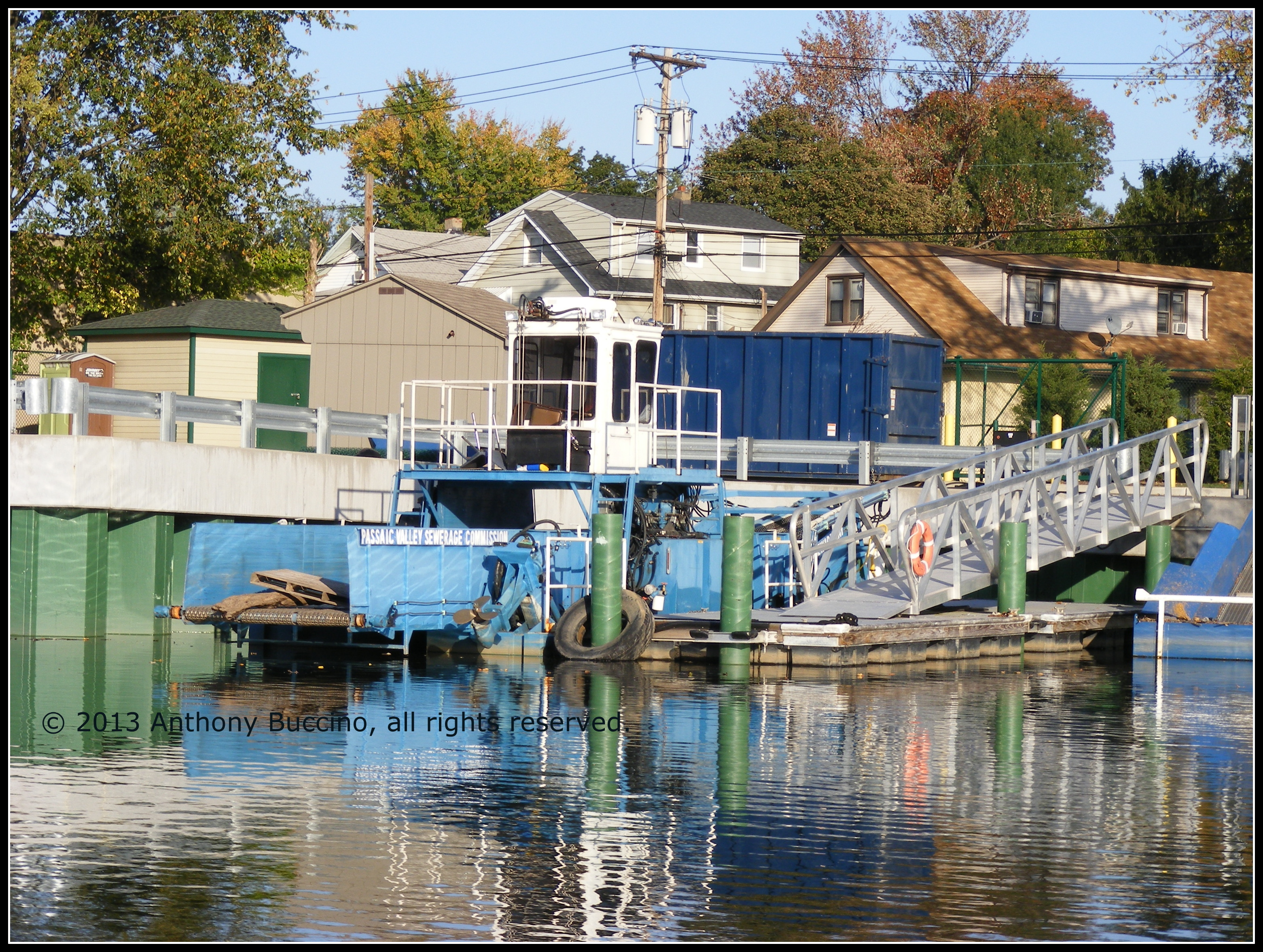 Passaic River - guided tour of two rivers and Newark Bay