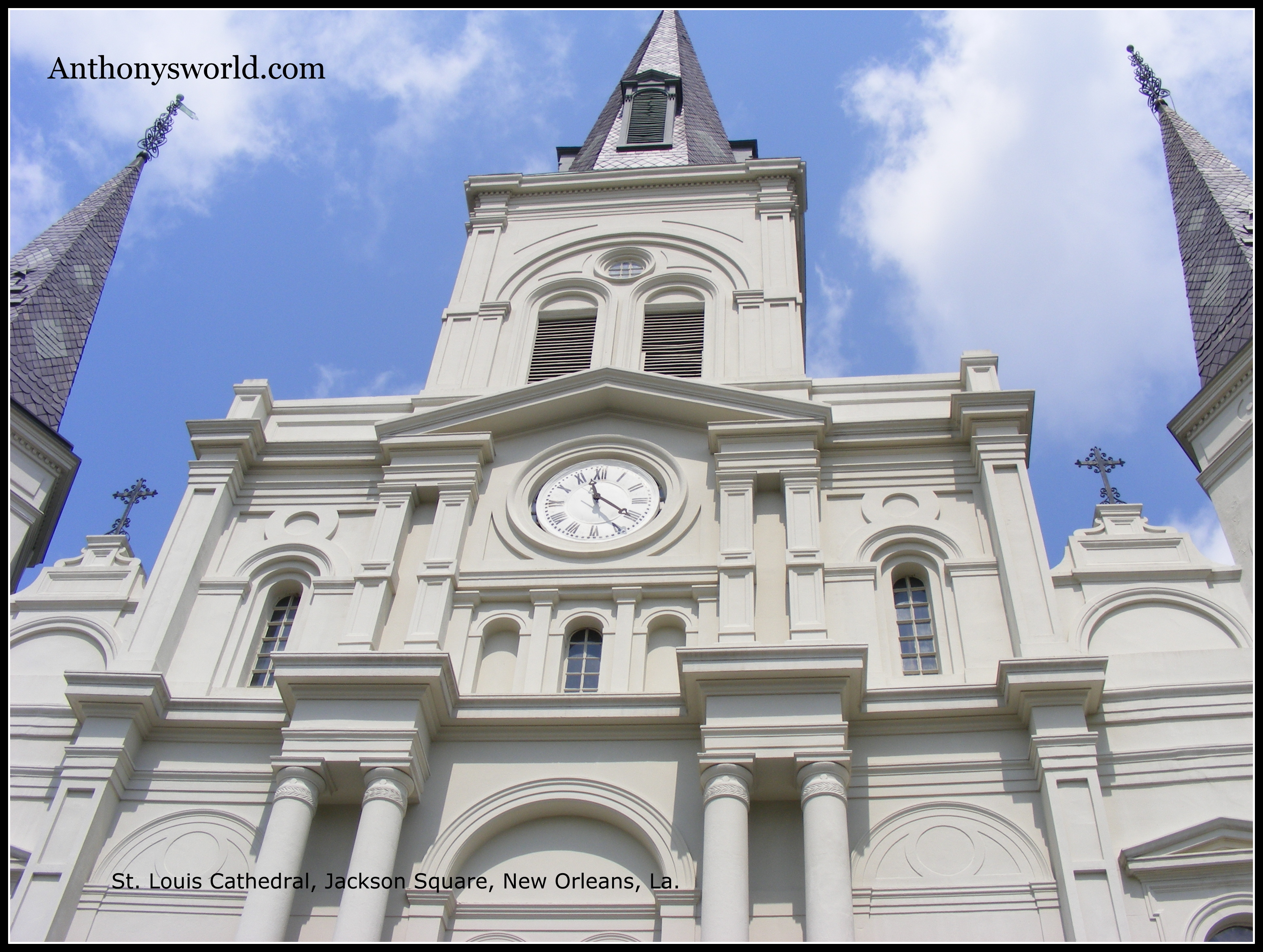 St. Louis Cathedral in Jackson Square, New Orleans.