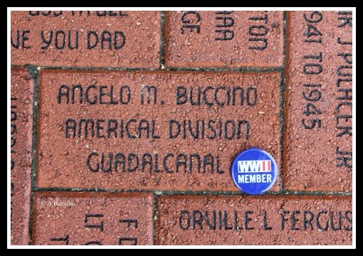 Angelo M. Buccino - Memorial Paver - National WW2 Museum, New Orleans