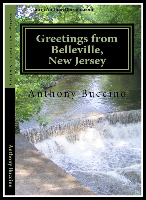 Early cover of Greetings From Belleville, N.J. - Collected writings