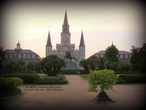 Jackson Square, New Orleans, La. 2010 by Anthony Buccino